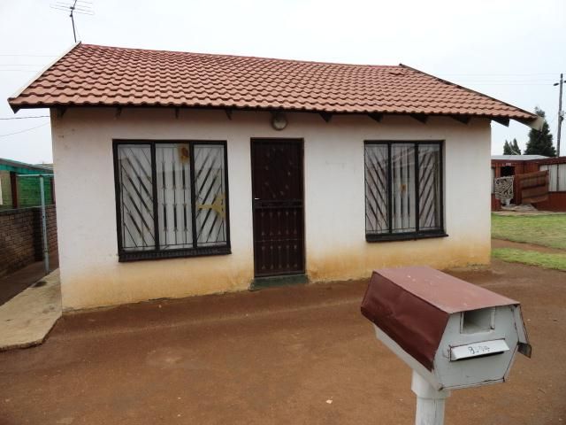Standard Bank Repossessed 2 Bedroom House for Sale on online auction in Evaton - MR081187