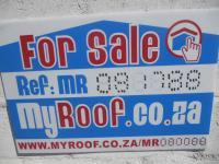 Sales Board of property in Langebaan