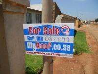 Sales Board of property in Germiston