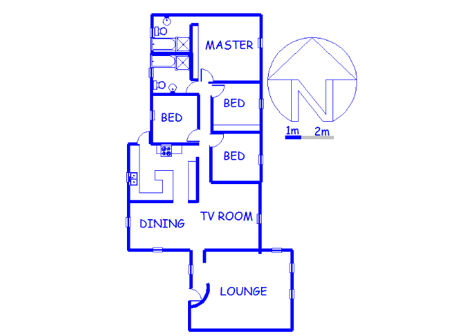 Floor plan of the property in Eastleigh