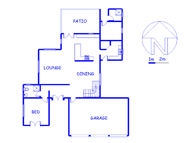 Floor plan of the property in Irene Farm Villages