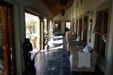 Patio of property in Kleinmond