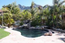 Backyard of property in Kleinmond
