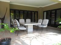 Patio of property in Fourways