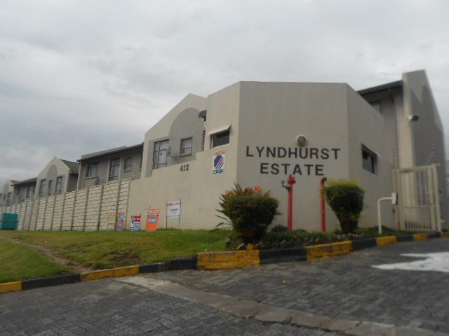 3 Bedroom Sectional Title for Sale For Sale in Lyndhurst - Private Sale - MR088601