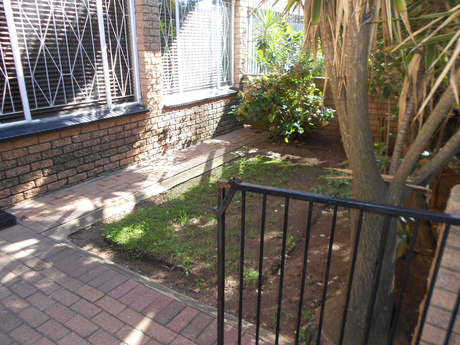 Garden of property in Turffontein