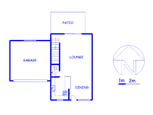 Floor plan of the property in Ifafi