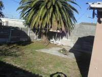 Backyard of property in Eerste Rivier