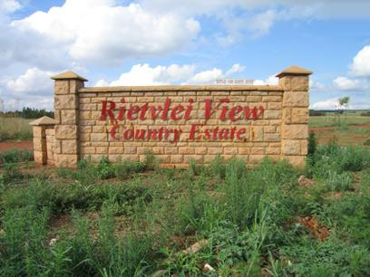 Land for Sale For Sale in Rietvallei - Home Sell - MR09056