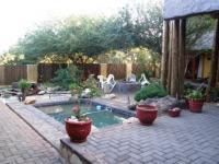 Backyard of property in Hoedspruit