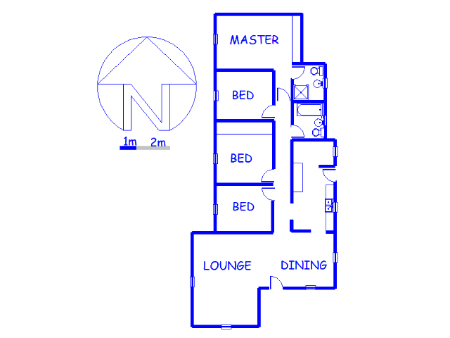 Floor plan of the property in Woodmere