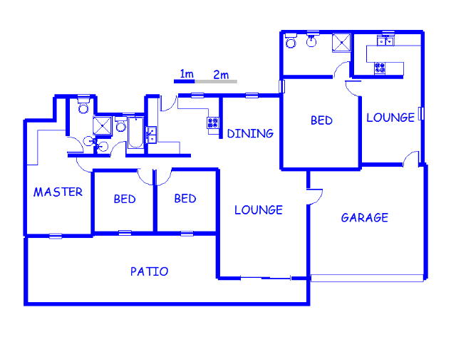 Floor plan of the property in Vorna Valley