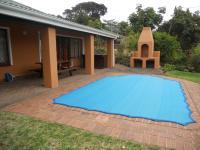 Backyard of property in Umtentweni