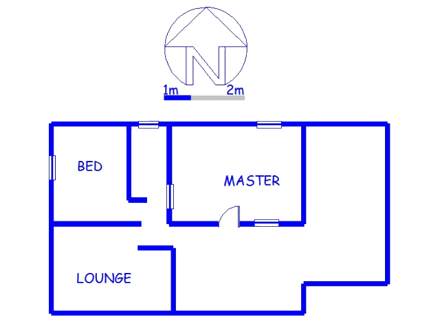 Floor plan of the property in Waterloo