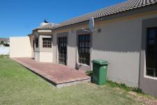 Backyard of property in Langebaan