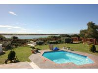 Backyard of property in St Francis Bay
