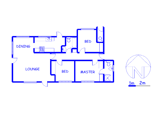Floor plan of the property in Wolmer