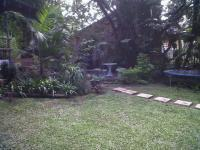 Backyard of property in Leisure Bay