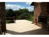 Patio of property in Sabie