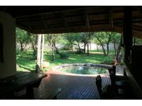 Patio of property in Hoedspruit