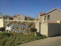 2 Bedroom 2 Bathroom Flat/Apartment for Sale for sale in Ruimsig