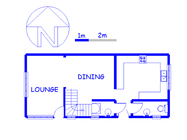 Floor plan of the property in Croftdene