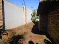 Backyard of property in Ruimsig