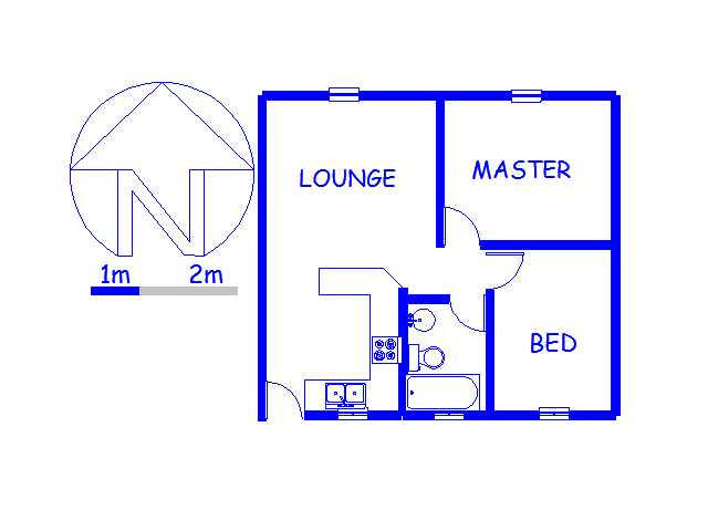 Floor plan of the property in Florida Lake