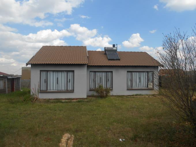 Standard Bank Insolvent 3 Bedroom House for Sale For Sale in Vosloorus - MR095728