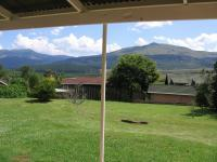 Backyard of property in Graskop