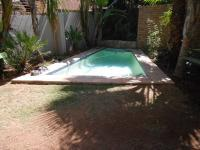 Backyard of property in Witkoppen