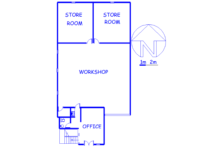 Floor plan of the property in Eastgate
