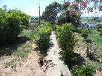 Garden of property in Oudtshoorn