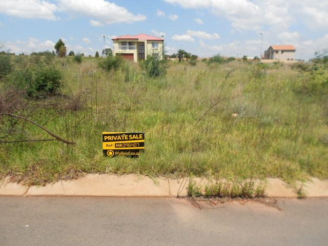 Land for Sale For Sale in Krugersdorp - Home Sell - MR096407
