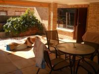 Patio of property in Summerstrand