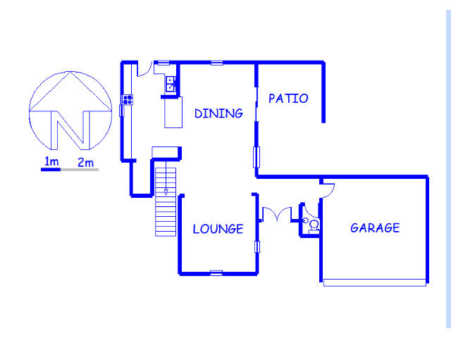 Floor plan of the property in Amorosa A.H.