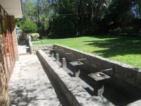 Backyard of property in Somerset West