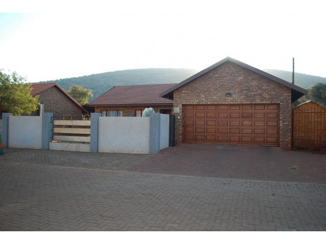 3 Bedroom House for Sale For Sale in Thabazimbi - Private Sale - MR099273
