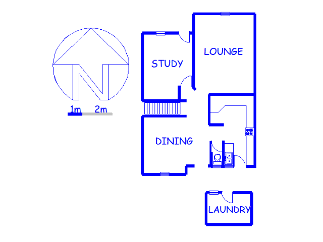 Floor plan of the property in Morninghill