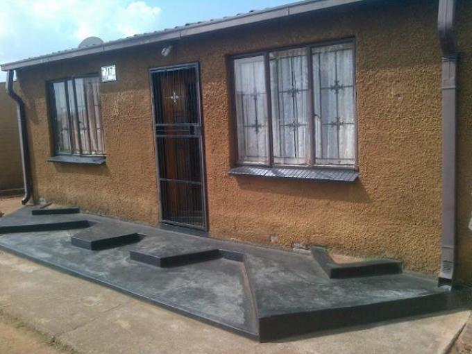 Standard Bank Repossessed 3 Bedroom House for Sale on online auction in Ratanda-JHB - MR101149