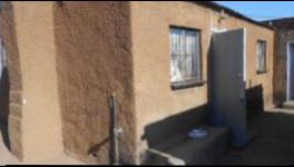 Backyard of property in Ratanda-JHB
