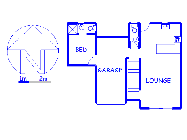 Floor plan of the property in Willowbrook