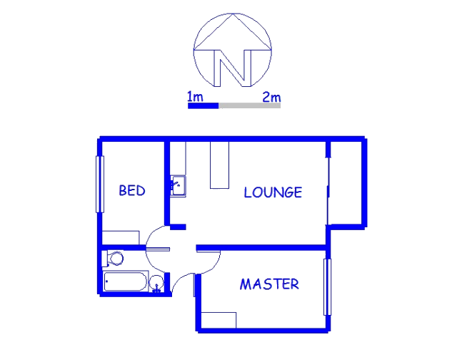 Floor plan of the property in Woodhaven