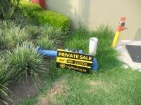 Sales Board of property in Midrand