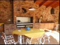 Patio of property in Randfontein