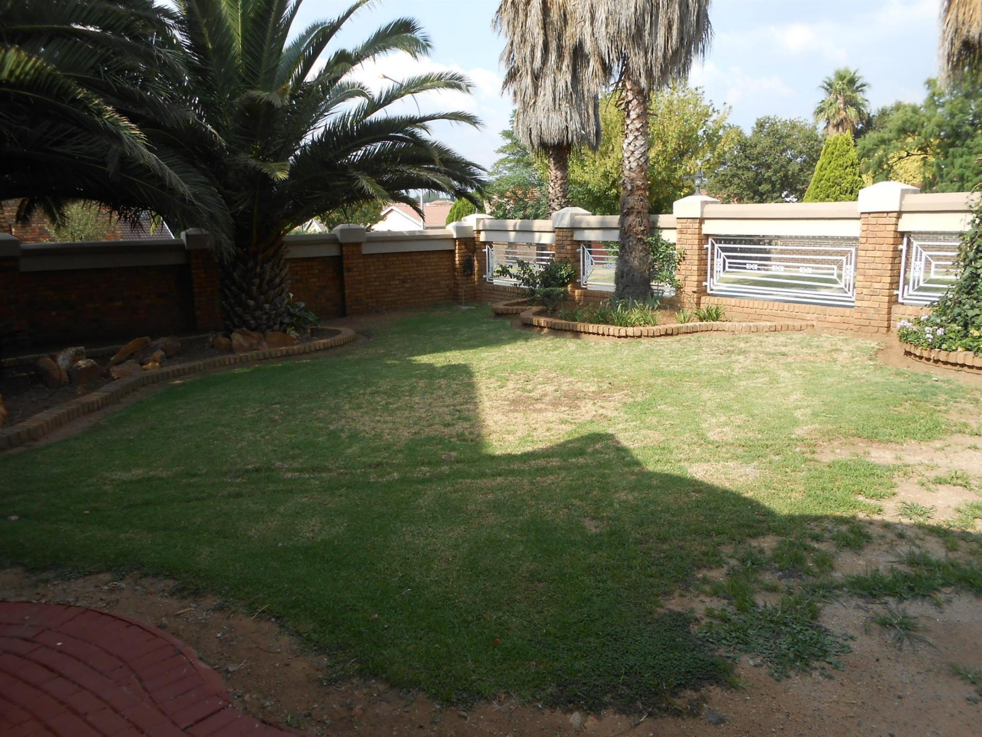 Garden of property in Dalpark