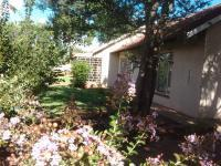 Garden of property in Stilfontein