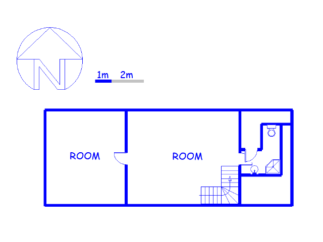 Floor plan of the property in Napier