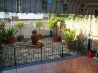 Patio of property in Lyttelton