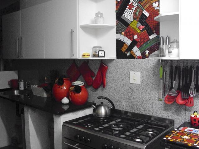 Kitchen of property in Barberton